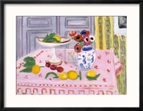 The Pink Tablecloth  c1925