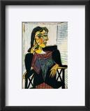 Portrait of Dora Maar, c.1937 Reproduction encadrée par Pablo Picasso