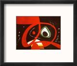 Kopf Reproduction encadrée par Joan Miró