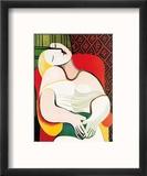 The Dream Reproduction encadrée par Pablo Picasso