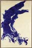 Anthropometrie (ANT 130), 1960 Reproduction encadrée par Yves Klein