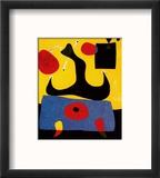 Femme Assise Reproduction encadrée par Joan Miró