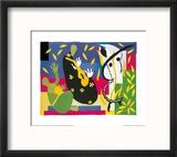 King's Sadness, c.1952 Reproduction encadrée par Henri Matisse