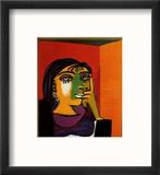 Dora Maar Reproduction encadrée par Pablo Picasso