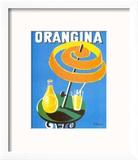 Orangina Reproduction encadrée par Bernard Villemot