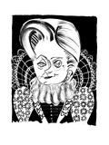 Hillary Queen EI - Cartoon