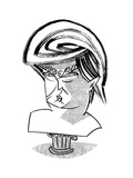 Donald Trump Bust - Cartoon