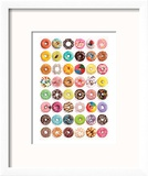 Donuts (Tops) SweetCollection Reproduction encadrée