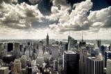 View of Manhattan, New York Tableau sur toile par Steve Kelley
