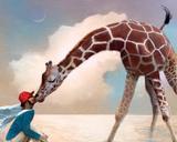 If You Were A Giraffe Tableau sur toile par Nancy Tillman