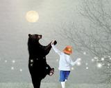 Moonlight Dance Tableau sur toile par Nancy Tillman
