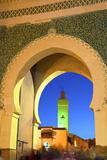 Bab Bou Jeloud, Fez, Morocco, North Africa, Africa Tableau sur toile par Neil