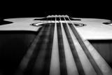Close Up a Steel String Acoustic Guitar Built by Luthier John Slobod Tableau sur toile par Amy & Al White & Petteway