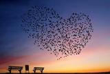 L'amour est dans l'air Tableau sur toile par Annemieke