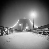 Bridge and Blizzard Tableau sur toile par Evan Morris Cohen