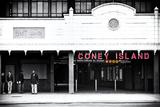 Subway Station  Coney Island Tableau sur toile par Philippe Hugonnard