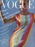 Vogue - July 1961 Tableau sur toile par Bert Stern