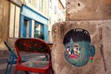 I lost it - Marseille, Le Panier Tableau sur toile par KASHINK