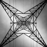 Abstract Geometric View of Pylon Tableau sur toile par Gary Turner