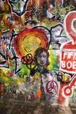 Lennon Wall, Prague Tableau sur toile par Mark Williamson