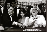 James Bond at the Casino, Thunderball Tableau sur toile
