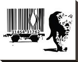 Barcode Tableau sur toile par Banksy