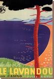 Lavandou Tableau sur toile par Guyserre