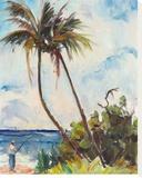 Fishing under Palms