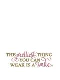 Elegant Smile Glitter Gold