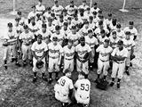 Brooklyn Dodgers Team Portrait