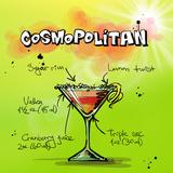 Cosmospolitan Cocktail