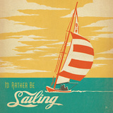 Idrather Be Sailing Square