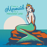 Mermaid In A Previous Life Square