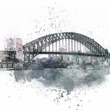 Sydney Harbor Bridge 2 - Square