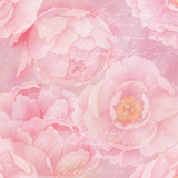 Soft Pink Rose Watercolor - Square