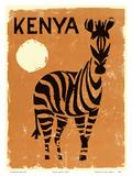Kenya  Africa - Zebra