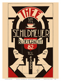Thee (Tea) - Schildmeijer Cafe - Amsterdam  Netherlands - Art Deco