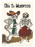 Mexico - Dia de los Muertos (Day of the Dead) - Dancing Skeletons