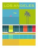 Elwoods LA Reproduction d'art par Michael Murphy