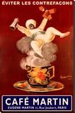 Leonetto Cappiello Cafe Martin Poster