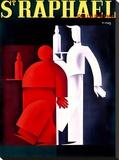 """Loupout """"St Raphael"""" Wine Poster"""