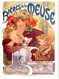 Mucha Nouveau Bieres de la Meuse Poster