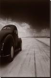 40 Coupe Salt Flat Racer Poster