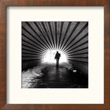 Central Park Tunnel Reproduction encadrée par Evan Morris Cohen