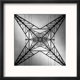 Abstract Geometric View of Pylon Reproduction encadrée par Gary Turner