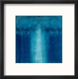Untitled Blue Painting, 1995 Reproduction encadrée par Charlie Millar