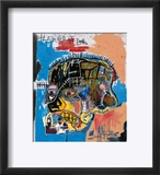 Sans titre Reproduction encadrée par Jean-Michel Basquiat