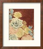 Sunkissed Bouquet II Reproduction encadrée par Grace Popp
