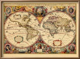 1633, World Reproduction encadrée