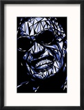 Ray Charles Reproduction encadrée par Cristian Mielu